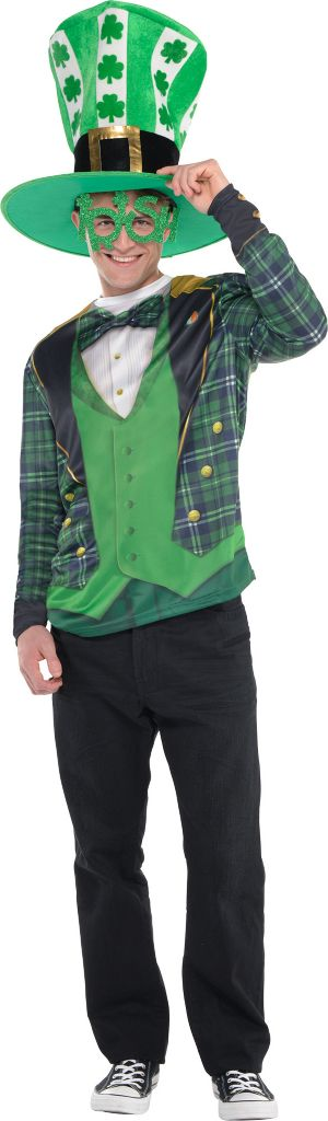 Adult Plaid St. Patrick's Day Costume