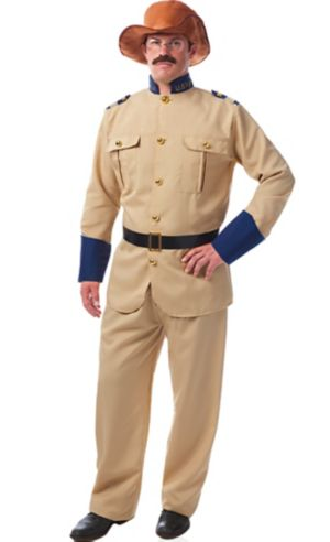Adult Teddy Roosevelt Costume Accessory Kit