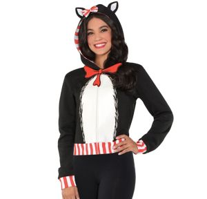 Adult Cat in the Hat Hoodie - Dr. Seuss
