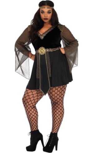 Adult Glamazon Warrior Costume Plus Size