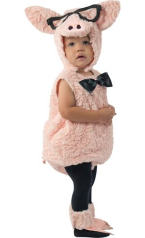 Baby Hipster Pig Costume