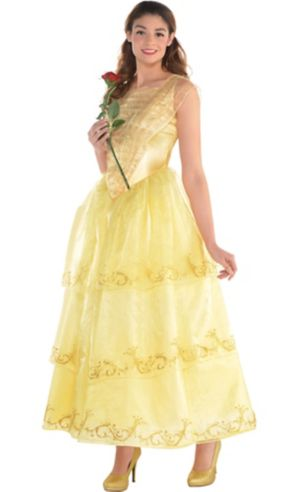 Adult Belle Dress Costume - Live Action Beauty and the Beast