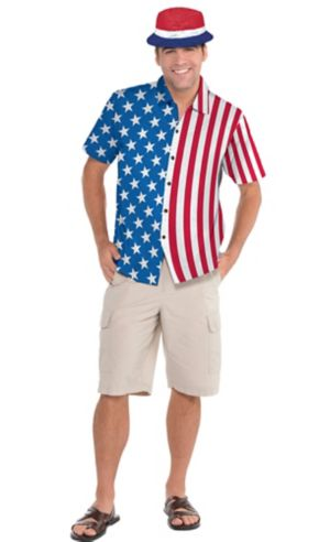 Patriotic American Flag Shirt Accessory Kit