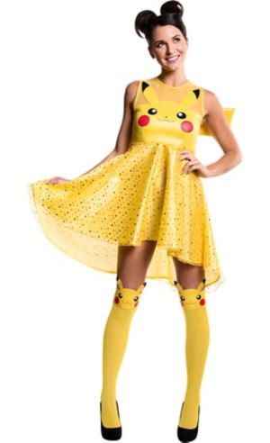 Adult Pikachu Dress Costume - Pokemon
