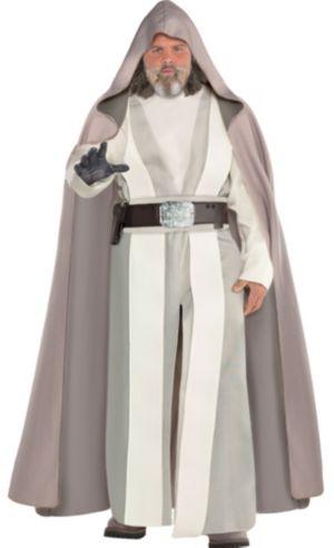 Adult Luke Skywalker Costume Plus Size - Star Wars 8 The Last Jedi