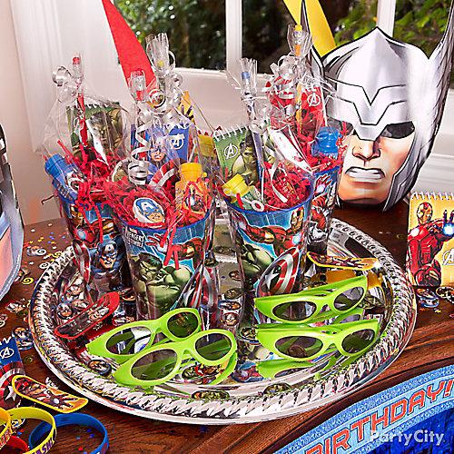 Avengers Favors Platter Idea