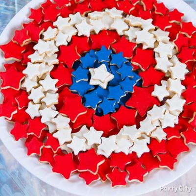 Fondant Captain America Cake How To Party City