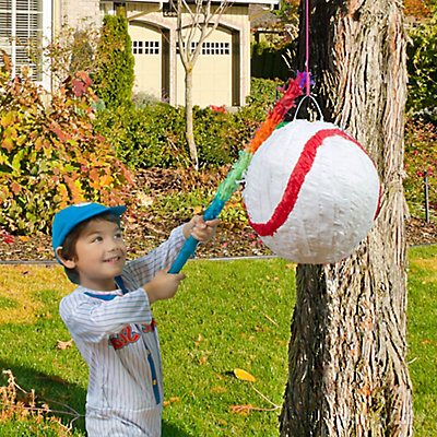 Baseball Pinata Game Idea
