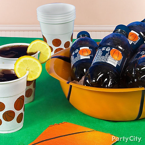 Basketball Drink Idea