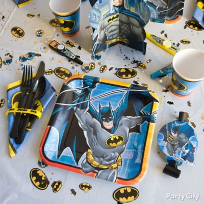 Batman Place Setting Idea