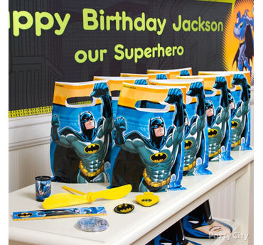 Batman Favor Bags