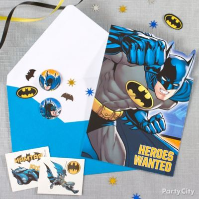 Batman Invite with Surprise Idea