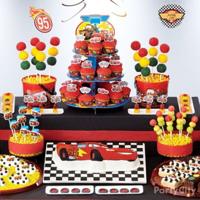 Cars Birthday Cake How To Party City