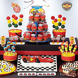 Cars Treats Table Idea
