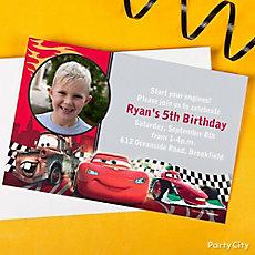 Cars Custom Invite & Thank You Idea