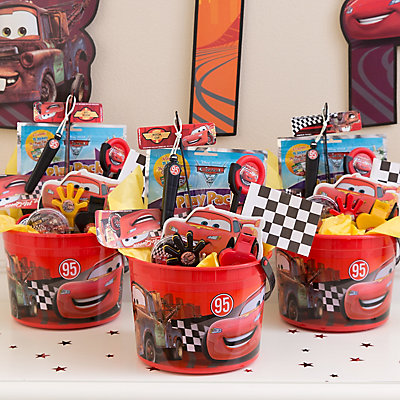 Disney Cars  Party Favor Buckets
