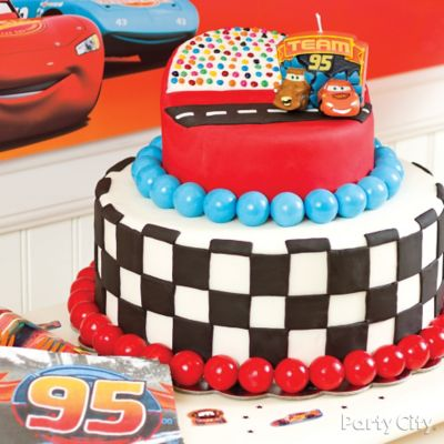 Cars Fondant Cake How To