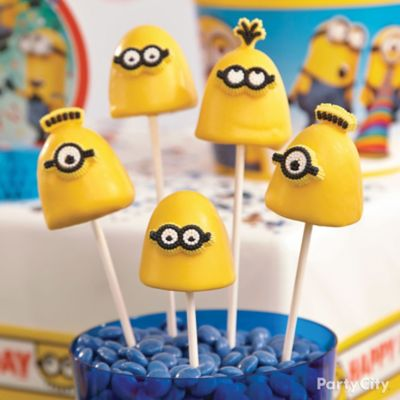 Despicable Me Brownie Pops How To