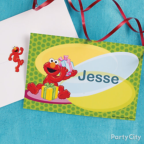 Elmo Thank You Note Idea