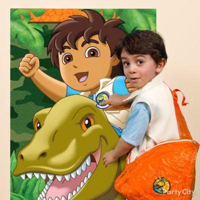 Go Diego, Go! Pin-It Game Idea