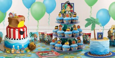 Treasure Map Jake and the Neverland Pirates Cake How To Party City