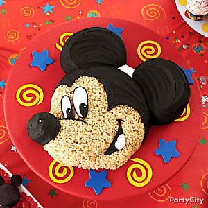 Mickey Mouse Cereal Cake How To