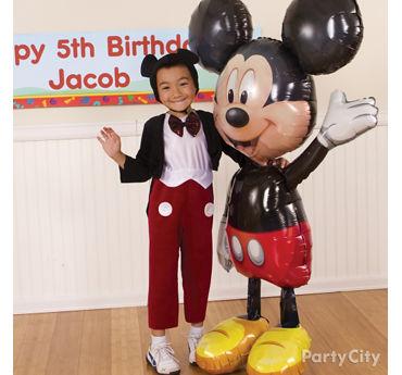 Mickey Mouse Gliding Balloon Idea