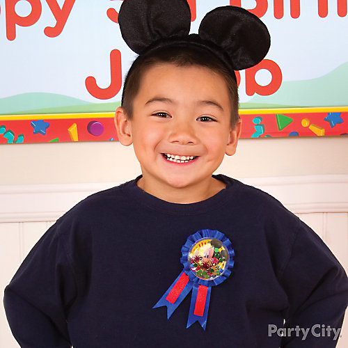 Mickey Mouse Birthday Outfit Idea