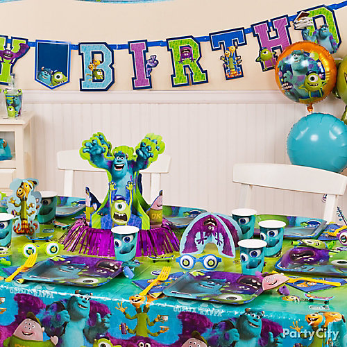 Monsters University Party Table Idea