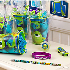 Monsters University Favor Cup Idea