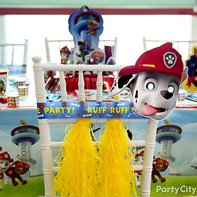 PAW Patrol Chair Deco DIY