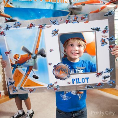 Planes Pilot License Photo Op DIY