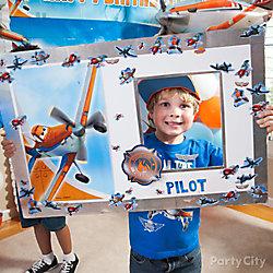 Planes Pilot License Photo Op DIY
