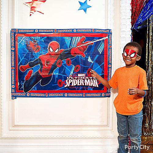 Spider-Man Pin-It Game Idea