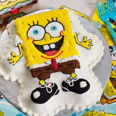 SpongeBob Form Cake How To