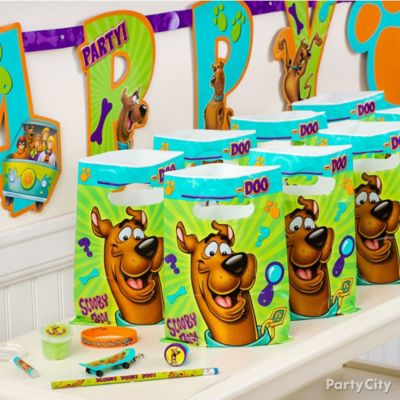 Scooby-Doo Favor Pack for 8 Idea
