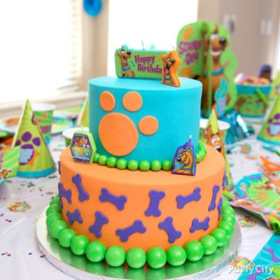Scooby-Doo Cake How To