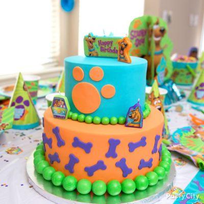 Scooby-Doo Cake How To