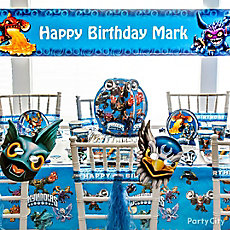 Skylanders Party Table Idea
