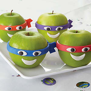 TMNT Candy Apples How To