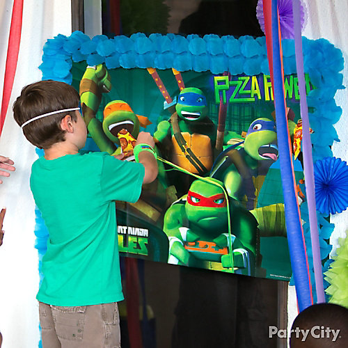 Teenage Mutant Ninja Turtles Birthday Game Idea - Party City