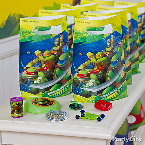 TMNT Favor Pack for 8 Idea