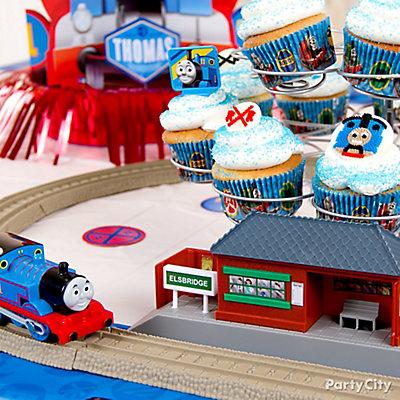Thomas Cupcake Idea