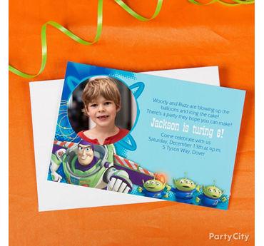 Toy Story Custom Invite Idea