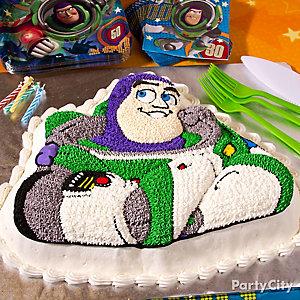 Buzz Lightyear Cake How To