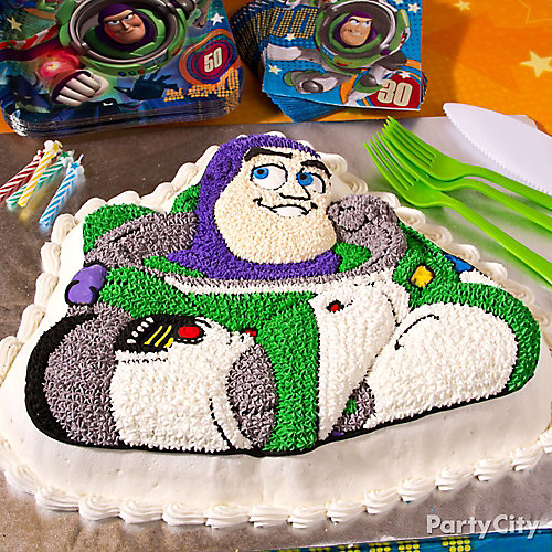 Buzz Lightyear Cake How To