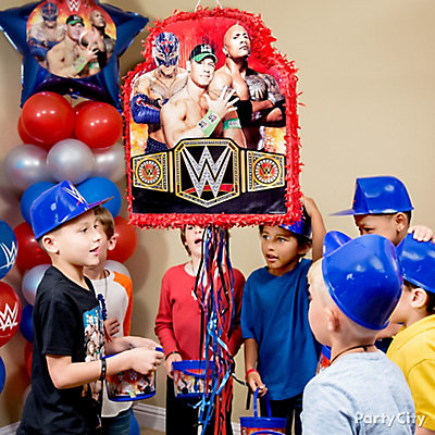 WWE Pinata Game Idea