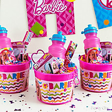 Barbie Favor Bucket Idea