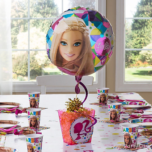 Barbie DIY Centerpiece Idea