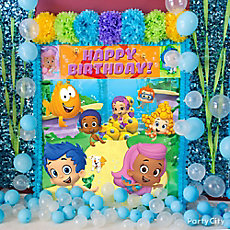 Bubble Guppies Balloon & Scene Setter Idea